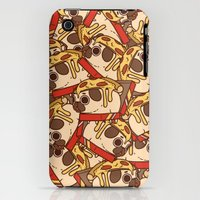 iPhone 3Gs & iPhone 3G Cases featuring Puglie Pizza by Puglie
