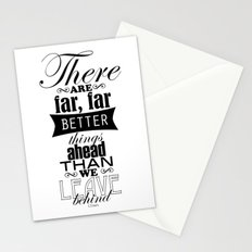 There are far, far better things... Stationery Cards