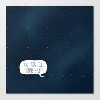 Star Stuff (Science Fict… Canvas Print