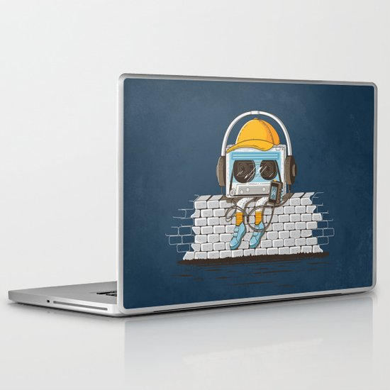 Oldschool Music Laptop & iPad Skin