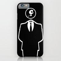 iPhone & iPod Case featuring Anonymous / Black / Les Hameçons Cibles by Les Hameçons Cibles