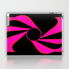 Abstract. Pink+Black Dot. Laptop & iPad Skin