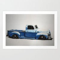 My First Truck Art Print