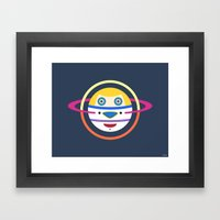 Spaceman 4 Framed Art Print