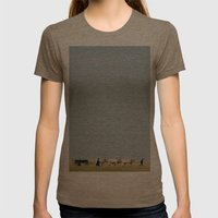 Shepherds Womens Fitted Tee Tri-Coffee SMALL