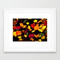 Fall Legends I Framed Art Print
