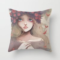 Le Grand Départ... Throw Pillow
