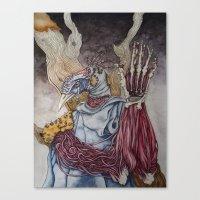 A Sacrifice for Knowledge Canvas Print
