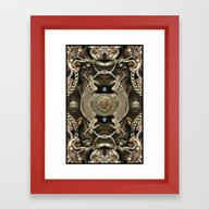 Lese Majesty Framed Art Print