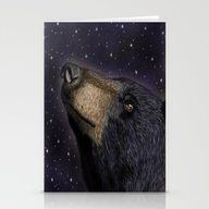 Looking To The Stars Stationery Cards