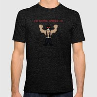Bane's Gonna Wreck It Mens Fitted Tee Tri-Black SMALL
