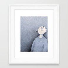The Blue Void Framed Art Print