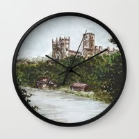 Durham View Wall Clock