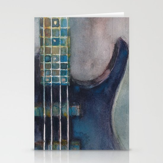 Ed's Bass Stationery Card
