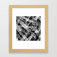 Desert Tracks Framed Art Print