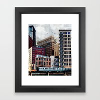 Rooftop #7 Framed Art Print
