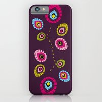 iPhone & iPod Case featuring Folk Variation by Amdis Rain