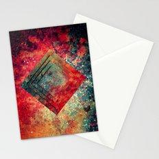 Random Square Stationery Cards