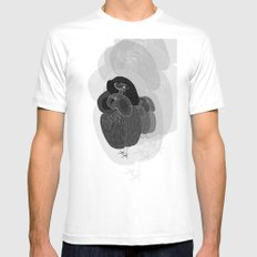 Unfortunate Birdies. Mens Fitted Tee White SMALL