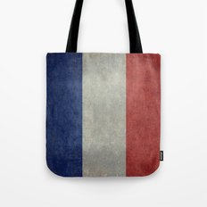 The National Flag of France Tote Bag