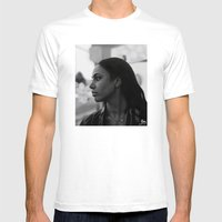 Woman in Harlem Mens Fitted Tee White SMALL