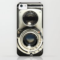 iPhone 5c Cases featuring Vintage Camera by Ewan Arnolda