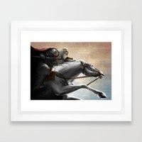 King Theoden Framed Art Print