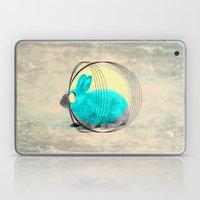 hypnotic rabbit Laptop & iPad Skin