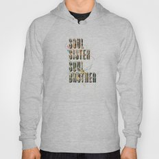 Soul Sister | Soul Brother - illustrations - Cover Hoody