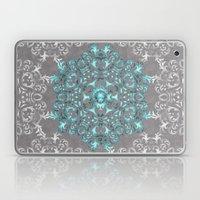 Mandala Pattern With Gli… Laptop & iPad Skin
