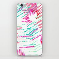 Pastel Lines iPhone & iPod Skin
