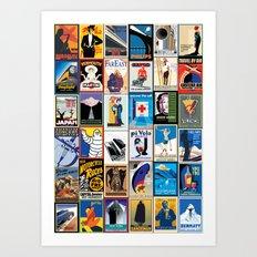Poster Wallpaper 2 Art Print
