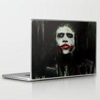 joker Laptop & iPad Skins featuring Joker by Vanessa Leach