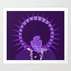 We Miss You Prince Art Print