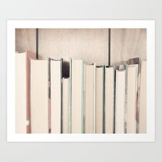 The Book Collection Art Print