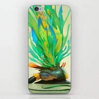 Feathered Tethridon iPhone & iPod Skin