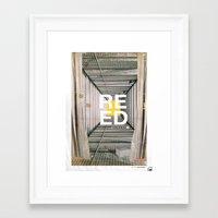 War what is it good for? Framed Art Print