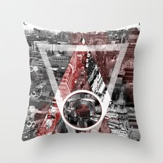 London City. Throw Pillow