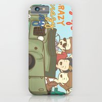 One Direction Live Like We're Young Cartoon iPhone 6 Slim Case
