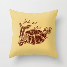 Fast And Class Throw Pillow