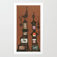 I Love You, Hundertwasser #5 Art Print