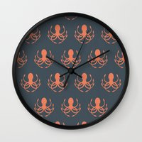 Release the Kraken Wall Clock