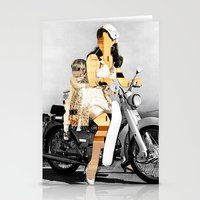 CardinalsRoller Collage Stationery Cards