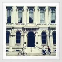 Untitled (Bank) Art Print