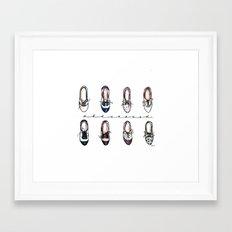 Obsessed Framed Art Print