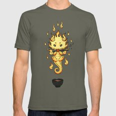 Dragon Tea Mens Fitted Tee Lieutenant SMALL