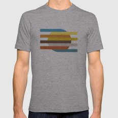 Circlelines Mens Fitted Tee Athletic Grey SMALL