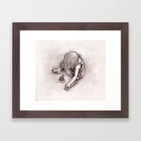 Ruby and the Rat Framed Art Print