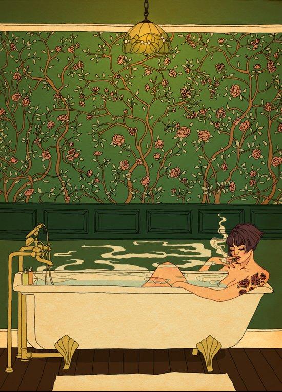 Bath and Beyond Art Print