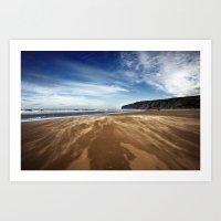 Running Sand Art Print